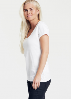 Fairtrade & Organic Ladies Round Neck T